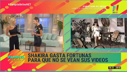 Video que Shakira quiere borrar de Internet