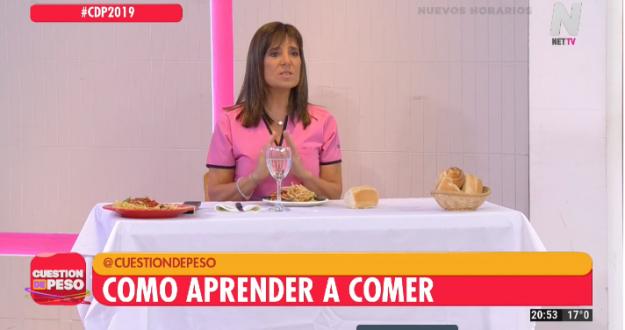 Cecilia Garau explica cómo aprender a comer