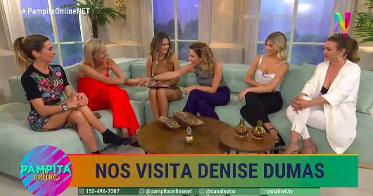 Denise Dumas en Pampita Online