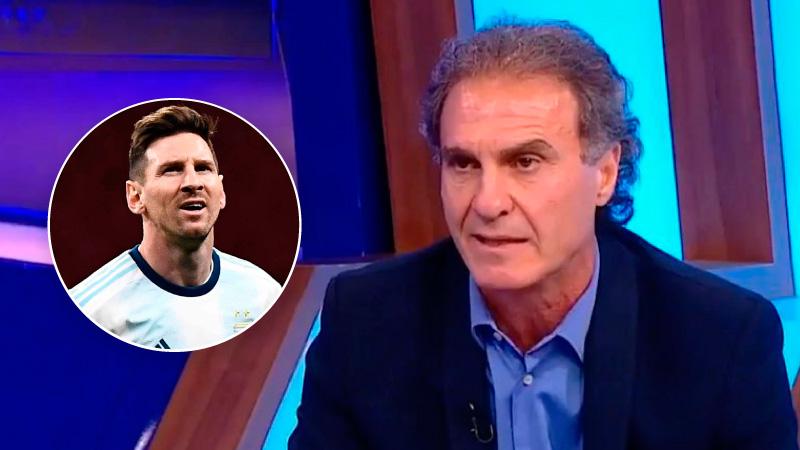 Oscar Ruggeri liquidó a Lionel Messi y le pide explicaciones a César Menotti