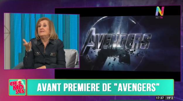 Avant Premier Avengers
