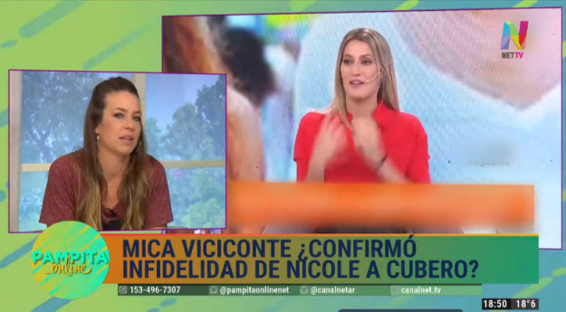 Cruce Mica Viciconte y Gege Neumann