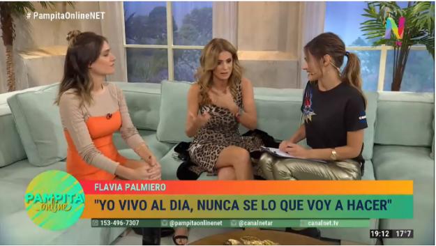 Flavia Palmeiro y Natalia Figueiras