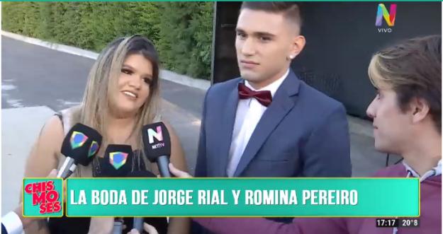 Morena Rial acerca de matrimonio de Jorge Rial