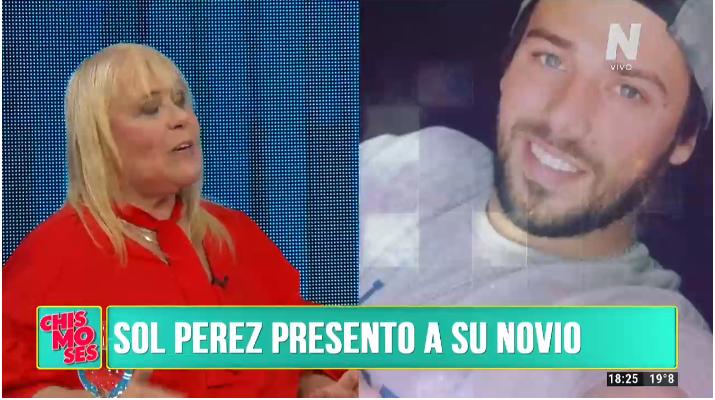 Novio de Sol Pérez