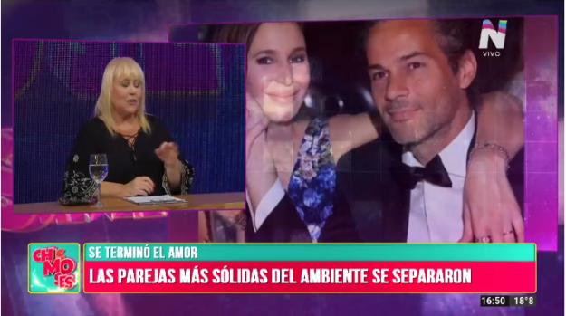Separación Dolores Barreiro y Matías Camisani