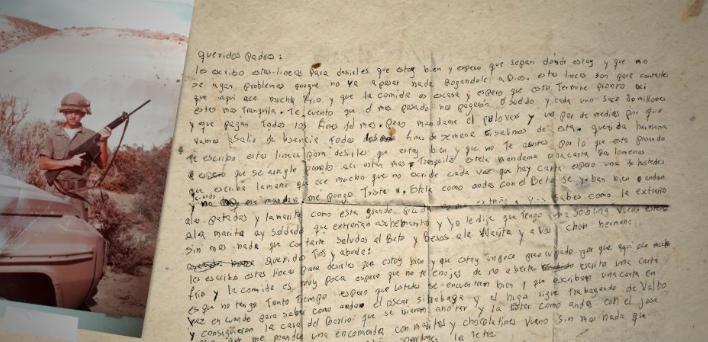 carta malvinas manuela roldan