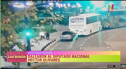 Ataque a diputado Héctor Olivares
