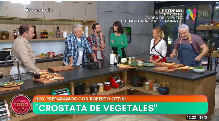 Crostata de vegetales