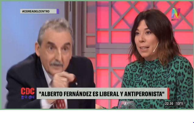 Cruce de Guillermo Moreno y María O´Donell