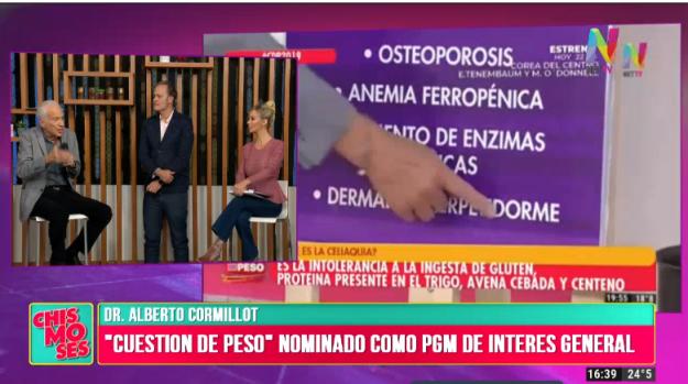 Cuestión de Peso nominado al Martín Fierro
