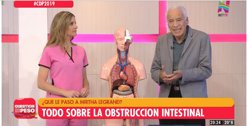 Dr. Alberto Cormillot explicó la afección de Mirtha Legrand