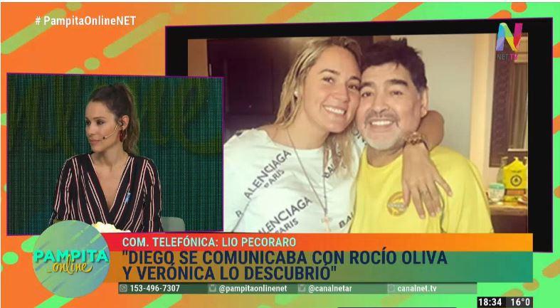 Lio Pecoraro habla de Maradona