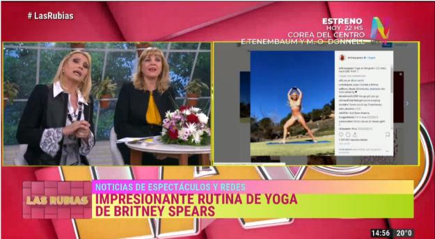 Rutina yoga Britney Spears