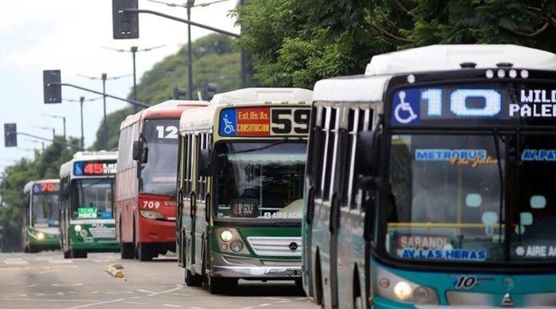 colectivos paro transporte 29 mayo