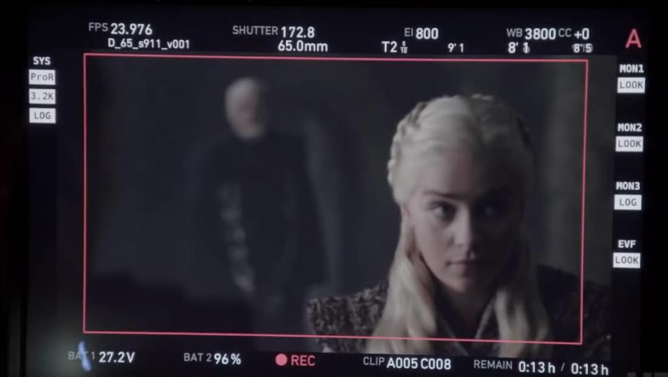 Game Of Thrones detrás de cámara