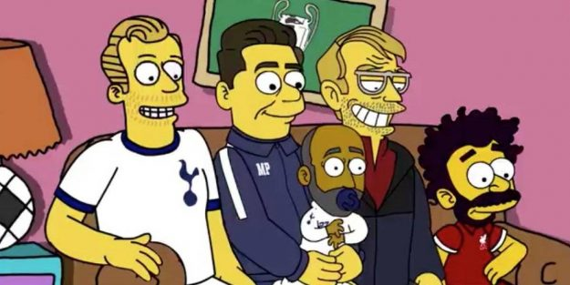 la champions league los simpson