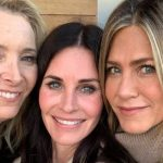 Actrices de Friends se reencontraron