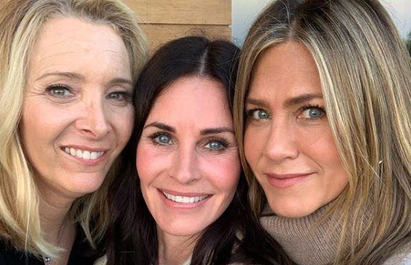Actrices de Friends se reencontraron