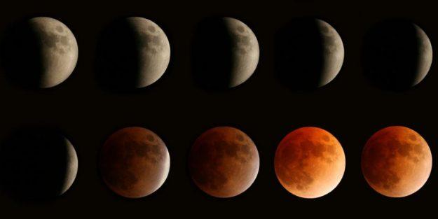 Eclipse lunar parcial 16 de julio
