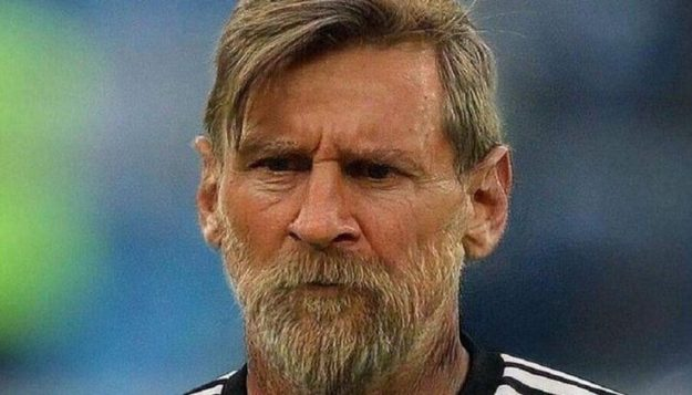 faceapp messi