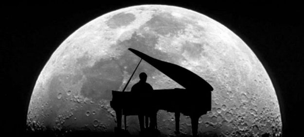 hombre luna musica
