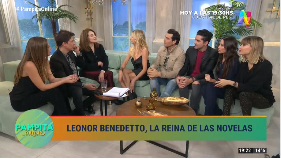 Ricky Maravilla, Leonor Benedetto en la despedida de Claudia Fontán de  Pampita Online