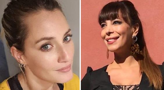 Mica Viciconte y Ximena Capristo