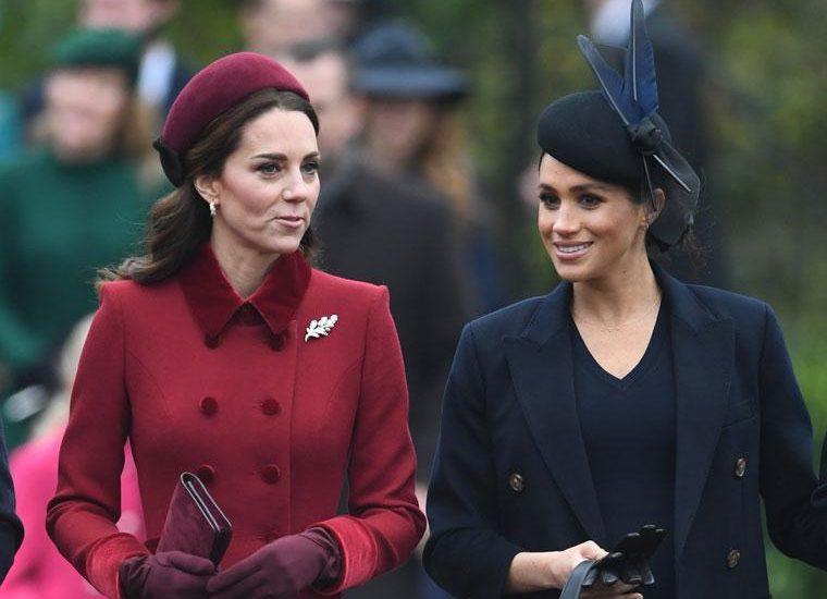 Meghan y Kate juntas en Wimbledon