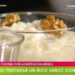 tips de cocina programa completo arroz con leche
