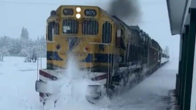 tren patagonico nevada bariloche