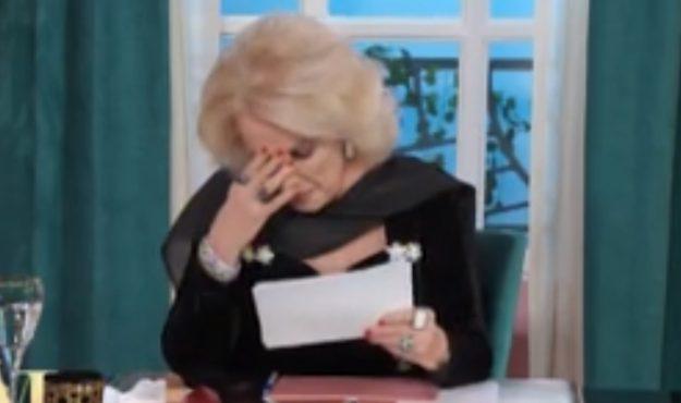 """""""Hoy lo extrañé"""": Mirtha Legrand se quebró y entre lágrimas recordó a su querido hermano"""