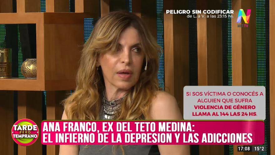 Ana Franco en Tarde Pero Temprano