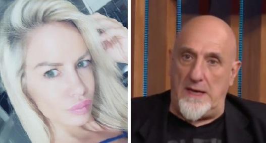 Luciana Salazar y Juan Acosta