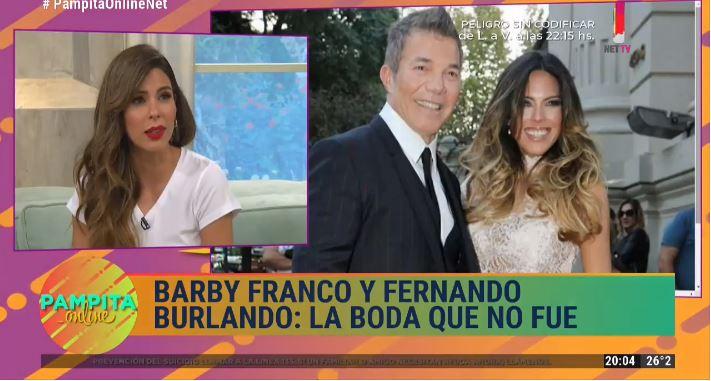 Barby Franco y Fernando Burlando