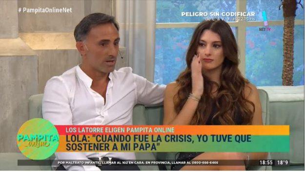 Diego y Lola Latorre