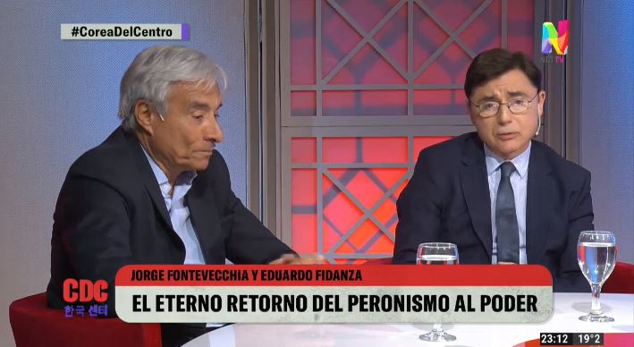 Jorge Fontevecchia y Eduardo Fidanza