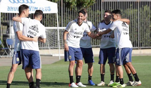 argentina scaloni entrenamiento