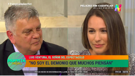 Luis Ventura y Pampita