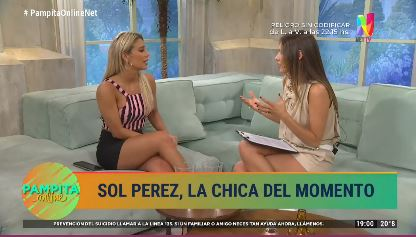 """Sol Pérez: """"No me interesa para nada el amor"""""""