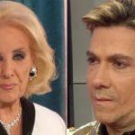 Mirtha Legrand y Roberto Piazza