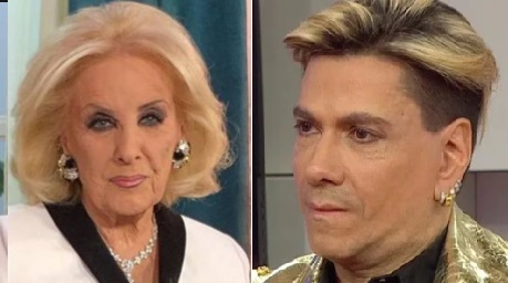 Mirtha Legrand y Roberto Piazza