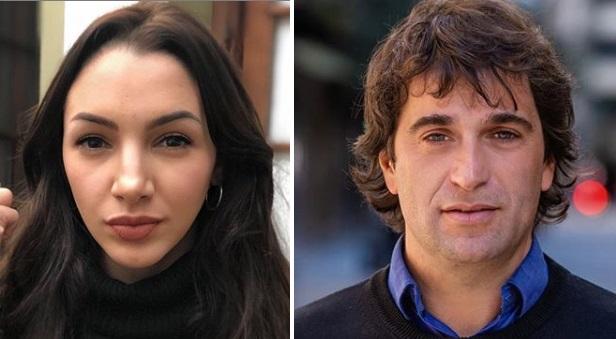 Thelma Fardin y Gabriel Solano
