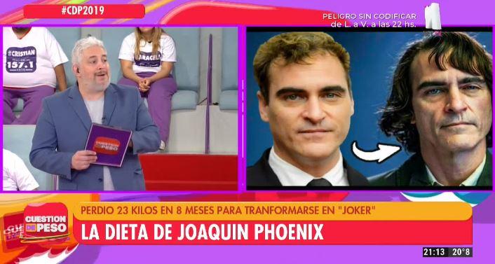 Dieta Joaquin Phoenix
