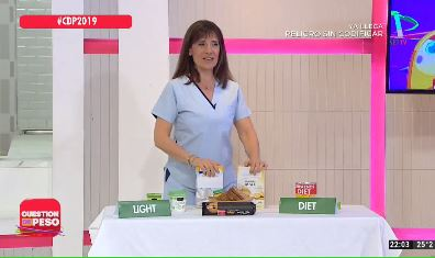 Diferencia entre diet y light
