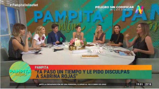 Pampita Online 301019
