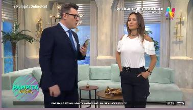 Pampita y Gabriel Oliveri