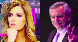 Viviana Canosa y Alberto Fernández