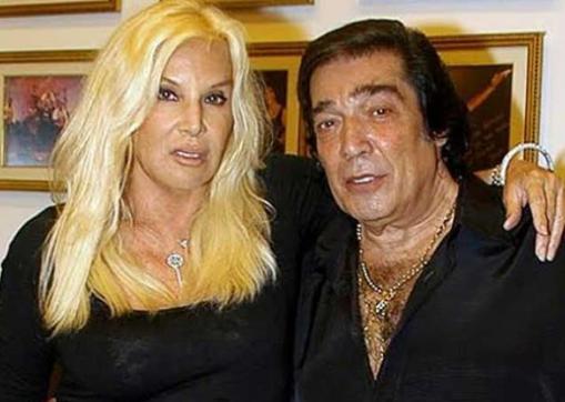 Susana Giménez y Cacho Castaña