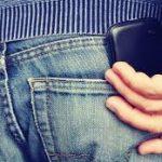 exploto celular en el pantalon
